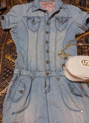 Супер джинсовое платье