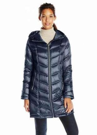 Демисезонная женская куртка пуховик calvin klein в размере xxs, оригинал