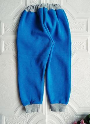 Спортивные утепленные брюки на флисе4 фото