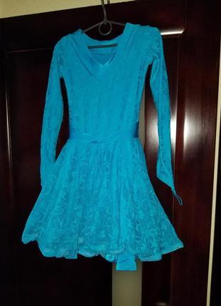 Платье для бальных танцев на девочку