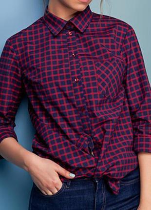 Отличная  рубашка в клетку, неотъемлемый атрибут модного стиля кэжуал.