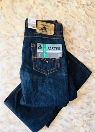 Классические джинсы от бренда faster 🇺🇸 usa.w30l32