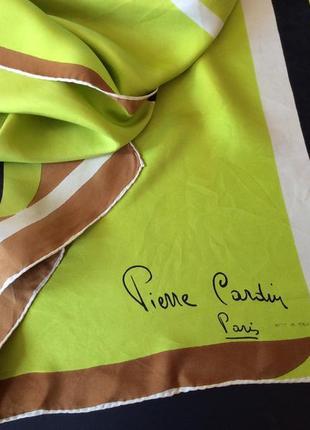 Платок pierre cardin оригинал винтаж шёлк
