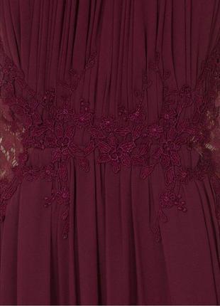 Выпускное платье винного цвета британского бренда платьев little mistress4