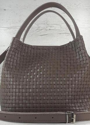 Новинка 2019! красивая кожаная женская сумка под bottega