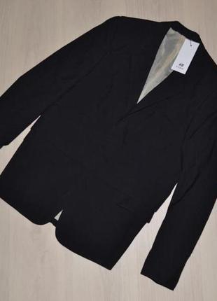 H&m пиджак, шерсть