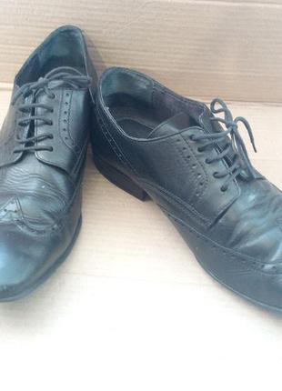 Шкіряні фірмові туфлі (air4men)