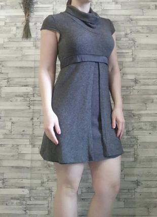 Платье на осень-весну с ангорой