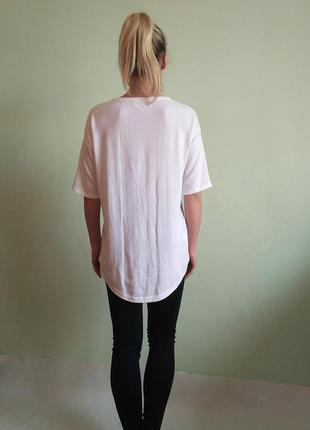 Красивая футболка со стразами, трикотажная блуза3 фото