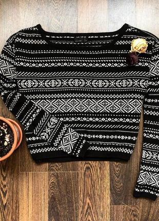 Укороченный свитер vero moda