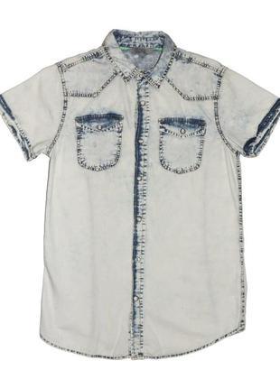 Новая джинсовая рубашка для мальчика, ovs kids, 4419510