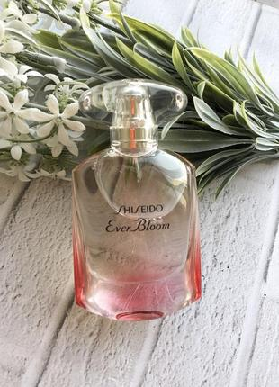 Shiseido ever bloom sakura art edition аромат парфюм туалетная вода духи