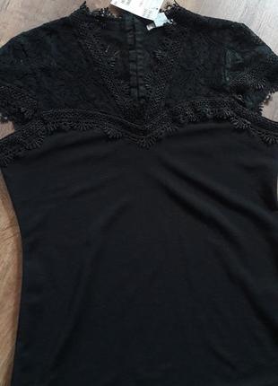 Шикарный костюм h&m с красивым ажурным верхом