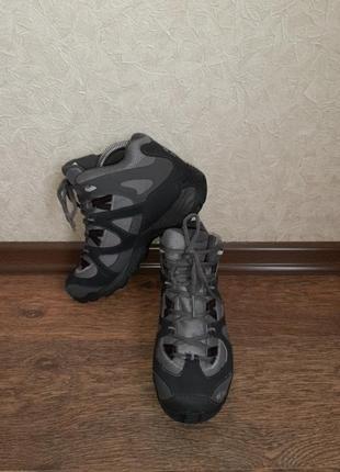 Трекинговые ботинки, кроссовки salomon,  размер 37 стелька-24 см