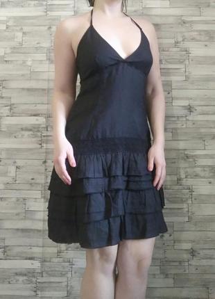 Летнее бохо платье с уникальным составом теани
