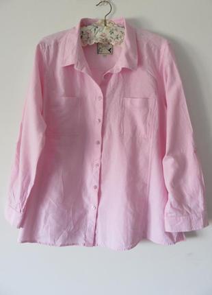 Рубашка spirit, большой размер, 100% коттон