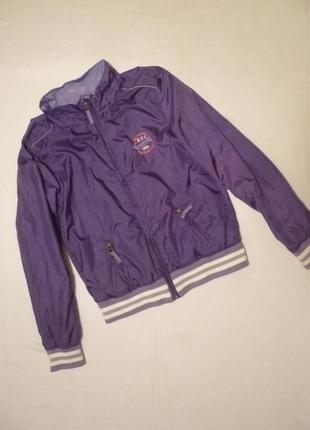 Куртка бомбер ветровка