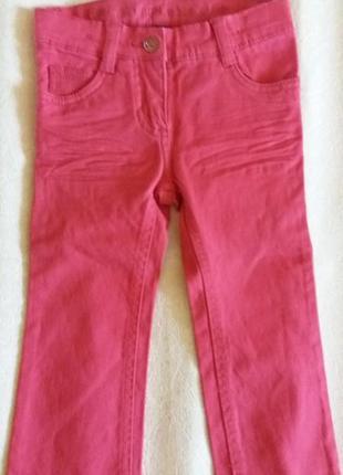 Рожеві джинси lupilu р.86