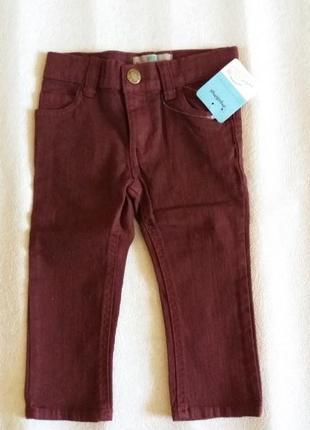 Стильні джинси на хлопчика р.74/80