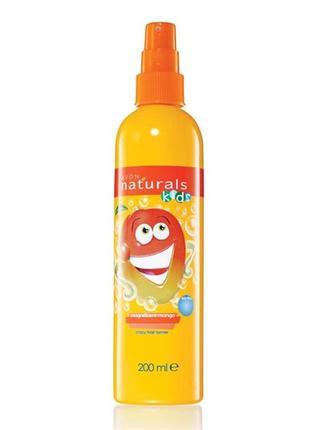 Дитячий спрей для полегшення розчісування волосся «грайливе манго» (200 мл)