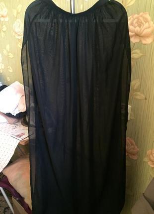 Юбка длинная в пол шифон