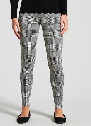 Новые клетчатые штаны/брюки zara basic zara