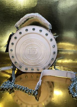 Каркасная  круглая сумка тор— популярность 🌸🌸🌸