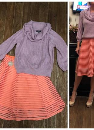Продам красивую юбку персикового цвета apricot