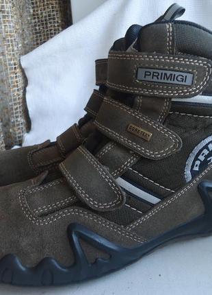 Ботинки термо primigi, gore-tex 39р.