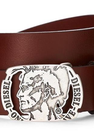 Ремень кожаный мужской diesel mino8 buffalo оригинал из сша