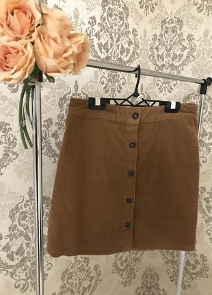Бархатная юбка