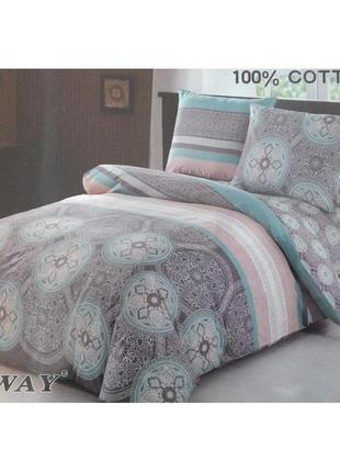 Premium  семейное постельное бельё elway