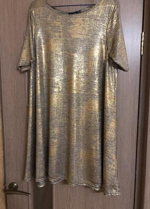 Платье свободного кроя,шикарное платье