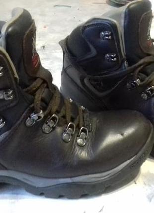 Ботинки кожаные треккинговые