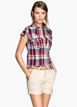 Рубашка h&m 38p