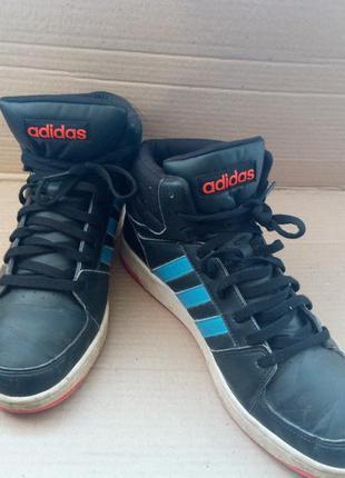 Ботинки,высокие кроссовки adidas
