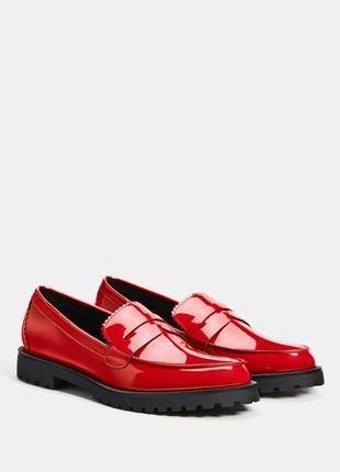 Туфли лоферы bershka испания 36 размер