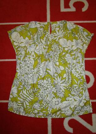 Красивая летняя блуза шелк