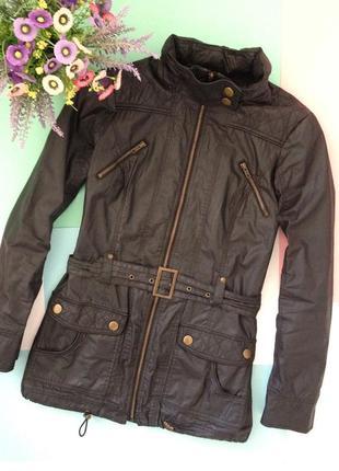 Актуальная куртка плащ с поясом1 фото