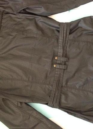 Актуальная куртка плащ с поясом8 фото
