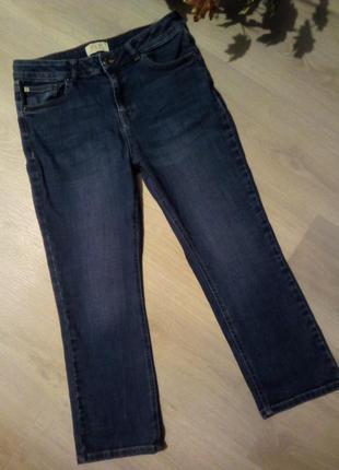 Укороченные мом джинсы f&f