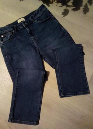 Укороченные мом джинсы f&f2