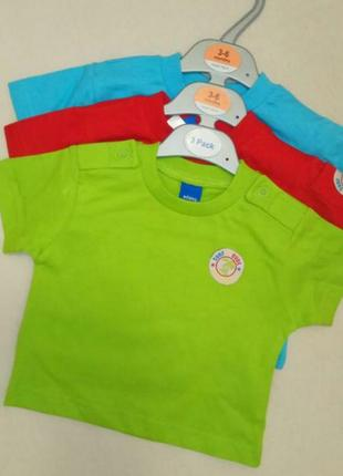 3 шт. набор футболочек, кофточек adams kids, англия