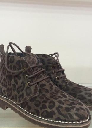 Шикарні замшеві черевички від san marina р-31