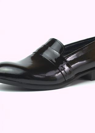 Туфли лаковые женская обувь больших размеров rosso avangard