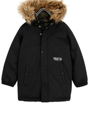 Куртка демисезонная zara. пуховик 5т 4т 104 98 110
