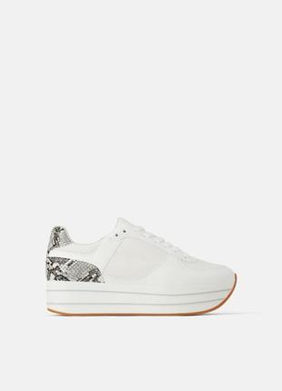 Новые крутые кроссовки на платформе
