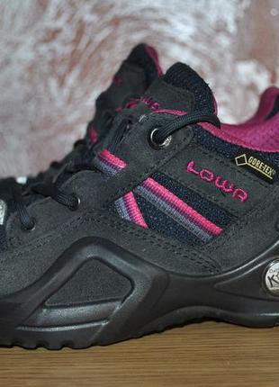 Треккинговые детские ботинки lowa