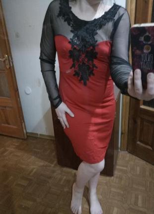 Сукня плаття сітка ажур