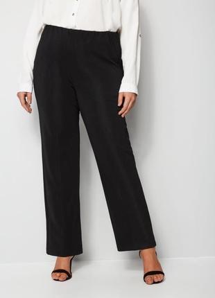 Классические брюки с высокой посадкой рр 24